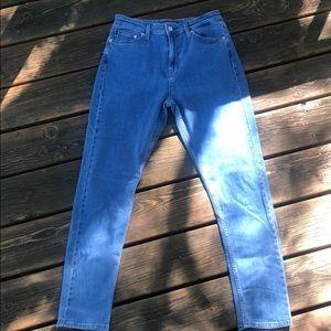 Calvin Klein high waist skinny jeans